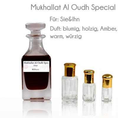 Afnan Perfume oil Mukhallat Al Oudh Special - Perfume Free From Alcohol