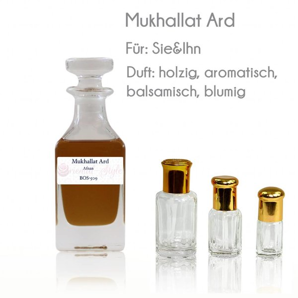 Afnan Perfume oil Mukhallat Ard - Perfume Free From Alcohol