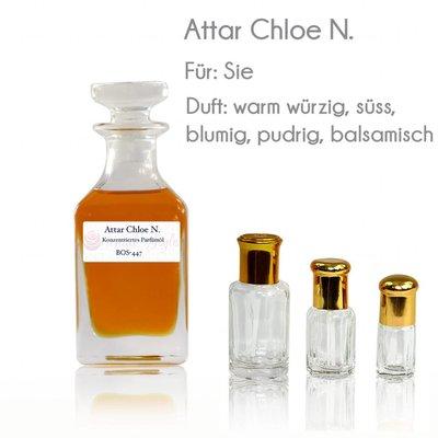 Oriental-Style Perfume oil Attar Kloe N. - Perfume free from alcohol