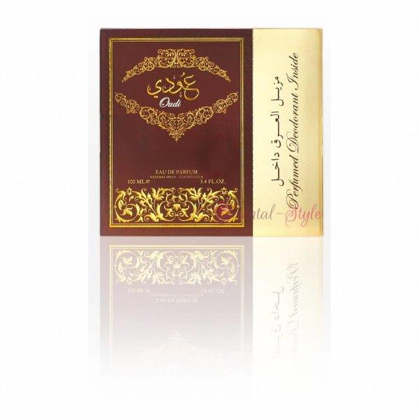Ard Al Zaafaran Perfumes  Oudi Eau de Parfum 100ml by Ard Al Zaafaran Vaporisateur/Spray Set