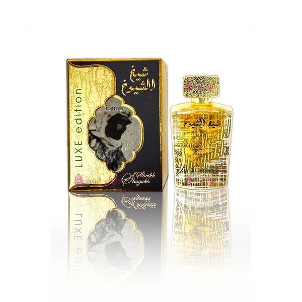 Lattafa Perfumes Sheikh Al Shuyukh Luxe Edition Eau de Parfum 100ml by Lattafa Perfume Spray