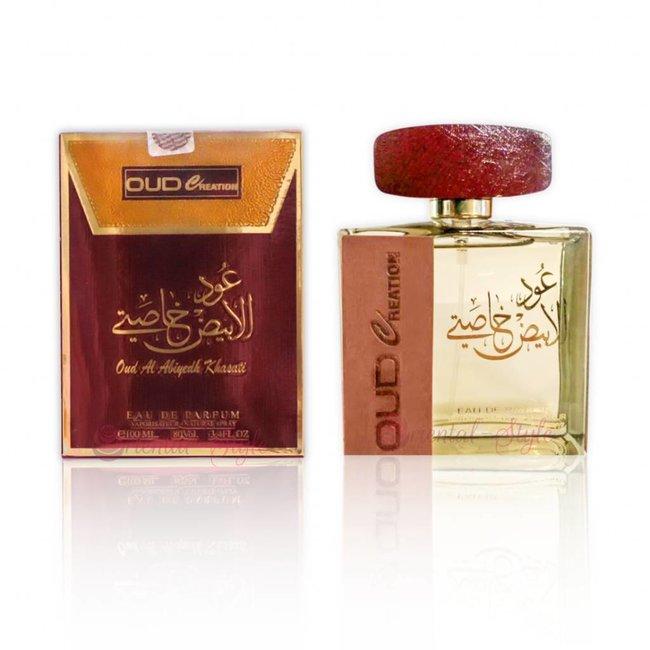 Ard Al Zaafaran Perfumes  Oud Al Abiyedh Khasati Eau de Parfum 100ml Ard Al Zaafaran Perfume Spray