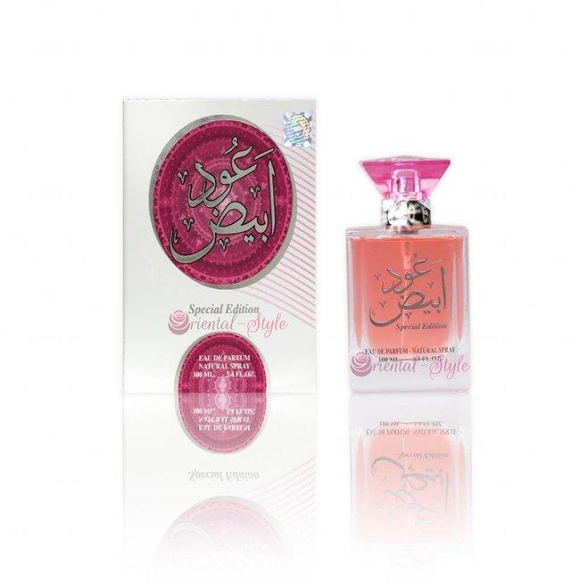Ard Al Zaafaran Perfumes  Oudh Abiyad Eau de Parfum 100ml Ard Al Zaafaran Perfume Spray