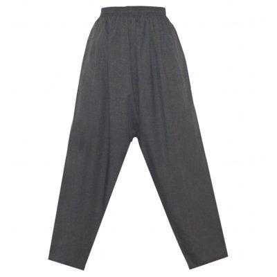 Arabische Männerhose Hose in Grau meliert