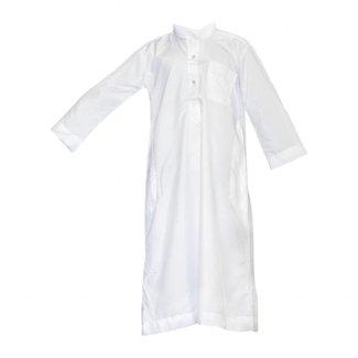 Children Kaftan, Jubbah, Galabiyah in White