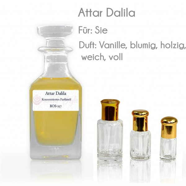 Oriental-Style Perfume oil Attar Dalila - Perfume free from alcohol