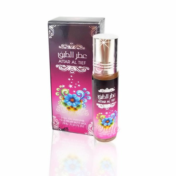 Ard Al Zaafaran Perfumes  Concentrated perfume oil Attar Al Tief 10ml - Perfume free from alcohol