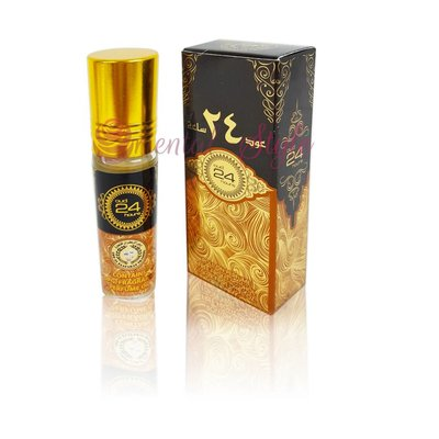 Ard Al Zaafaran Concentrated perfume oil Oud 24 Hours10ml - Perfume free from alcohol