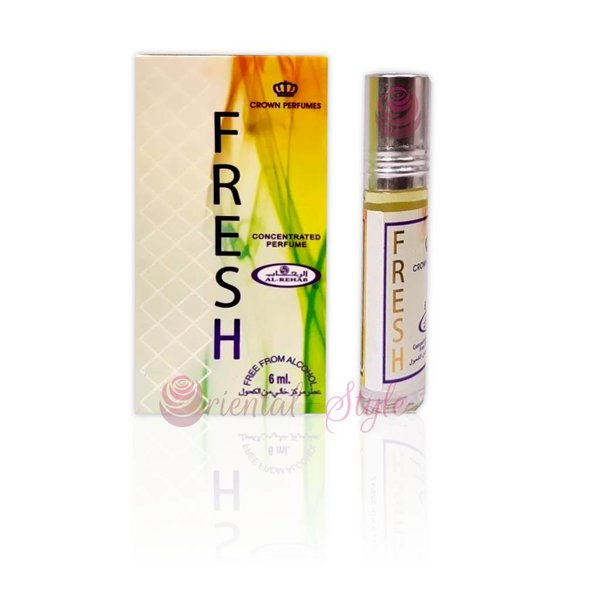 Al-Rehab Concentrated Perfume Oil Fresh 6ml