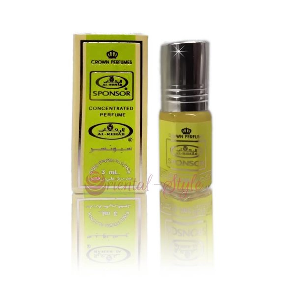 Al Rehab  Concentrated perfume oil Sponsor 3ml - Perfume free from alcohol
