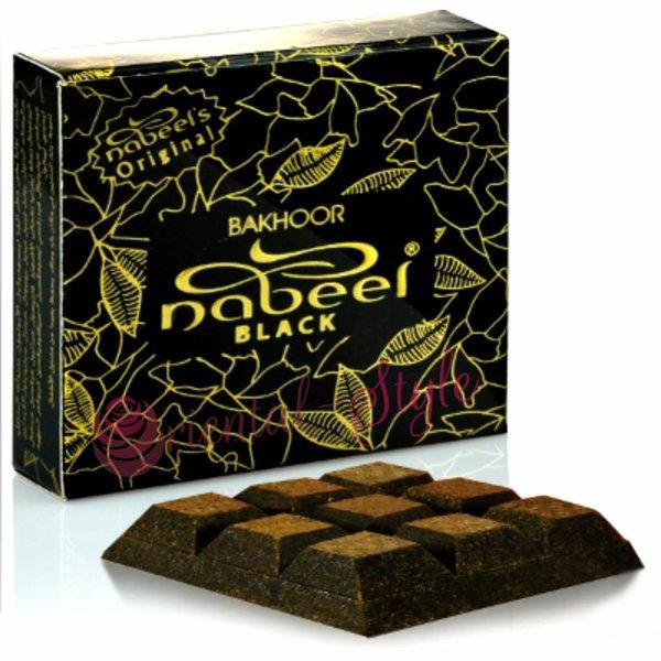 Nabeel Perfumes Bakhoor Black By Nabeel Incense (40g)