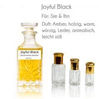 Oriental-Style Parfümöl Joyful Black - Parfüm ohne Alkohol