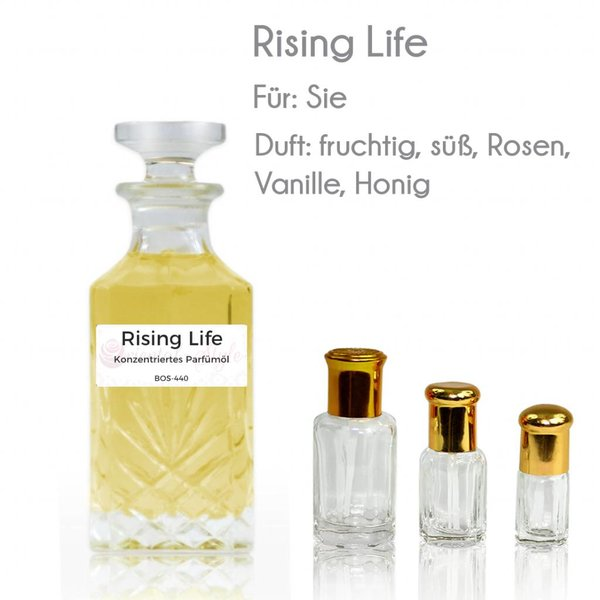 Oriental-Style Perfume oil Rising Life - Perfume free from alcohol