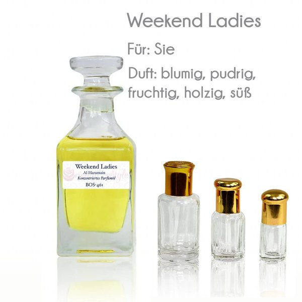 Al Haramain Perfume oil Weekend Ladies  - Perfume free from alcohol