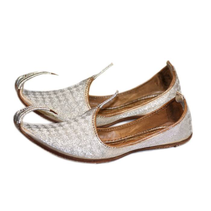 Indische Schuhe - Khussa - Schnabelschuhe