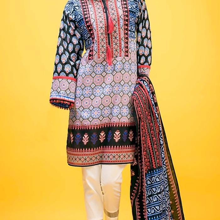 Salwar Kameez - Kunstfaser