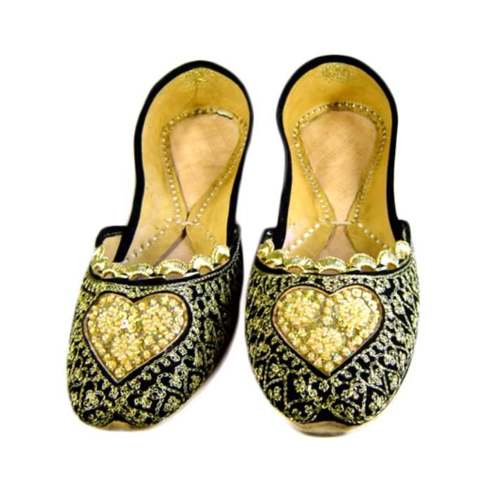 Indische Schuhe - Orientalische Ballerinas