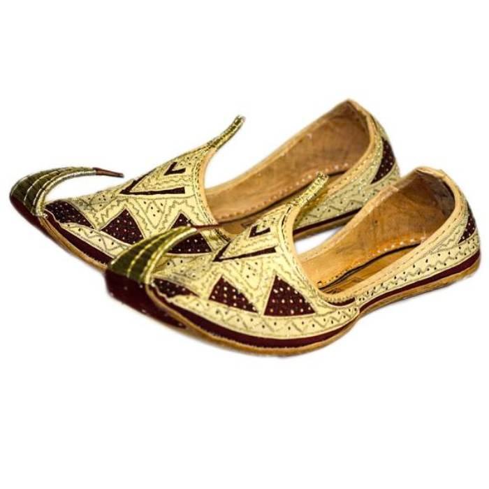 Traditionelle Khussa - Indische Schuhe