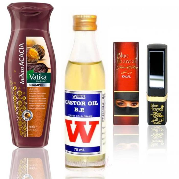 Hair Oils and Oriental Cosmetics