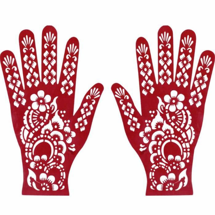 Henna stencils for beautiful oriental tattoos
