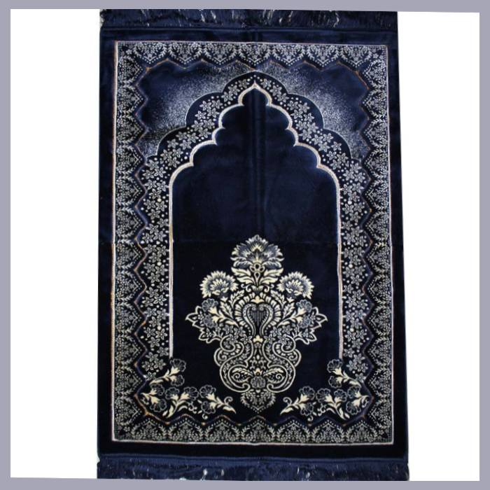 Prayer rug - seccade without a compass