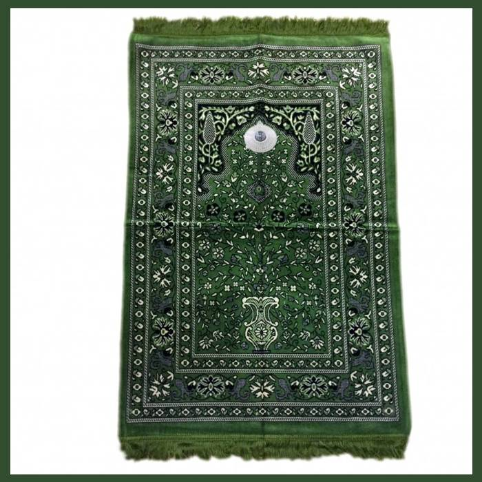 Prayer rugs with compass