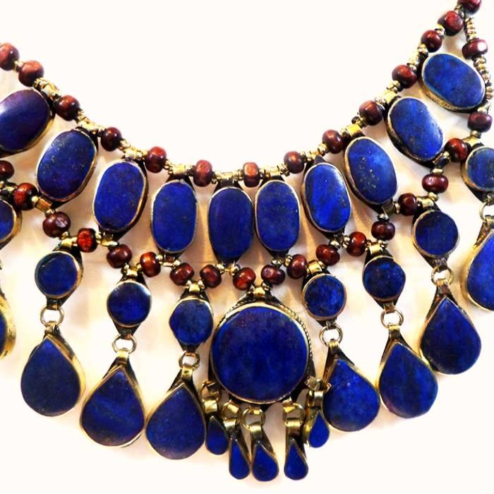 Tribal - Necklaces with Lapislazuli