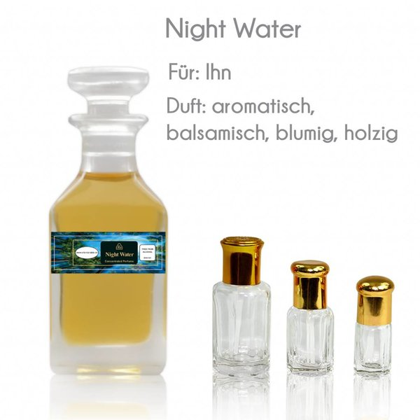 Swiss Arabian Parfümöl Night Water - Parfüm ohne Alkohol