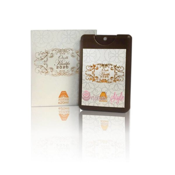 Anfar Oudh Khalifa 2020 BlackPocket Spray Parfüm 20ml