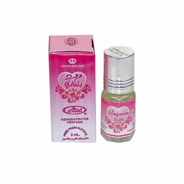 Al Rehab  Perfume oil Bulgarian Rose Al Rehab 3ml - Free From Alcohol