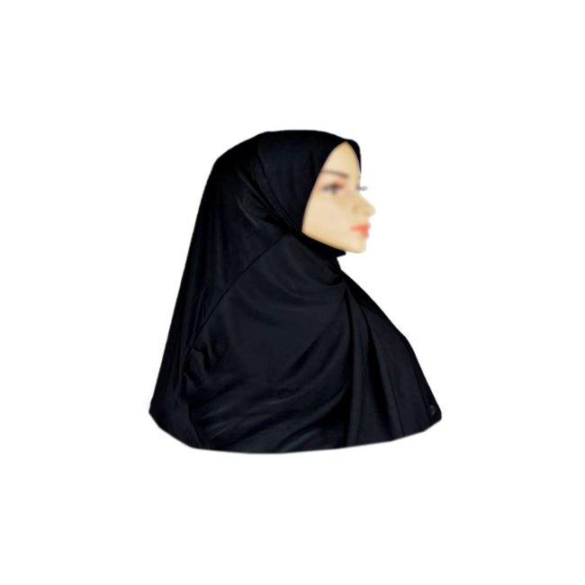Amira Hijab Scarf Black - Small