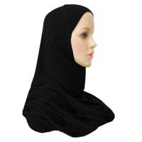Amira Hijab Kopftuch - Schwarz