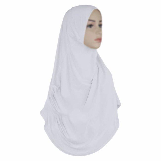 Amira Hijab Scarf White