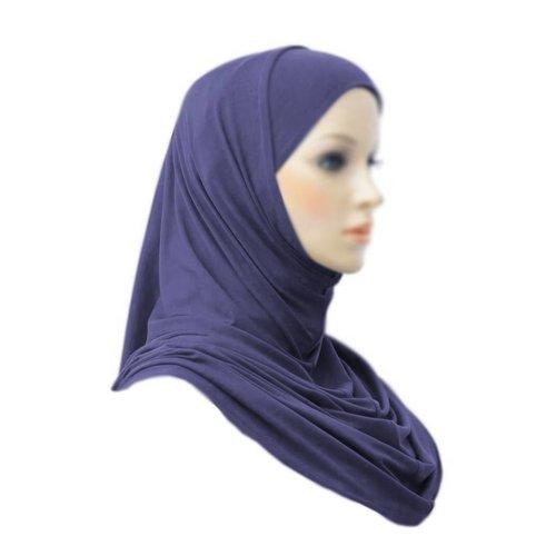 Amira Hijab Scarf Dark Blue