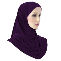 Amira Hijab Kopftuch - Pflaume