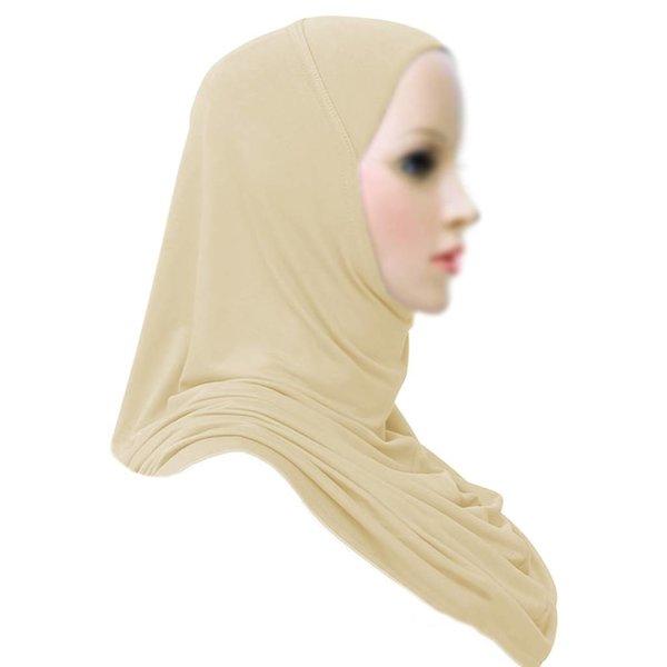 Amira Hijab Kopftuch - Creme