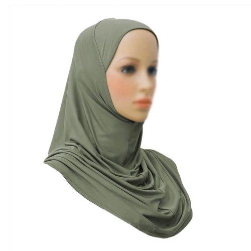 Amira Hijab in Khaki