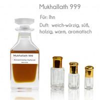 Ajmal Perfumes Parfümöl Mukhallath 999 von Ajmal - Parfüm ohne Alkohol