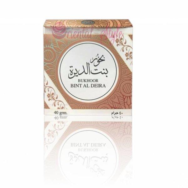 Ard Al Zaafaran Perfumes  Bakhoor Bint Al Deira  Incense (40g)