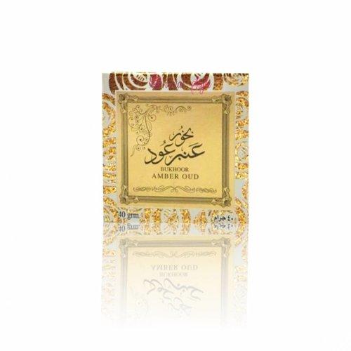 Ard Al Zaafaran Perfumes  Bakhoor Amber Oud (40g)