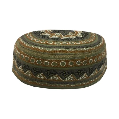 Panjabi Mütze mit Stickerei