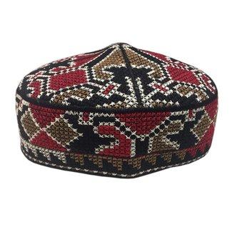 Panjabi cap with embroidery