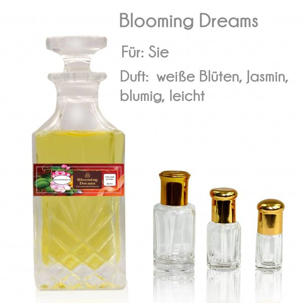 Oriental-Style Perfume oil Blooming Dreams - Perfume free from alcohol
