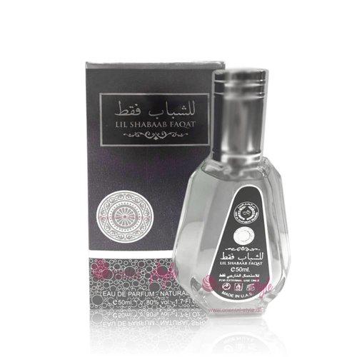 Ard Al Zaafaran Lil Shabaab Faqat Eau de Parfum 50ml Vaporisateur/Spray