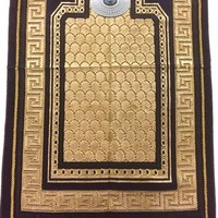 Prayer rug - Seccade With Compass In Dark Blue