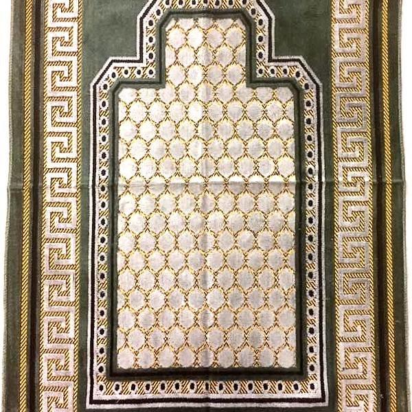 Gebetsteppich - Seccade in Olivegrün