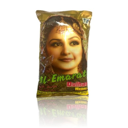 Red Henna Powder Al Emarati Dulhan Body Art Quality 1kg