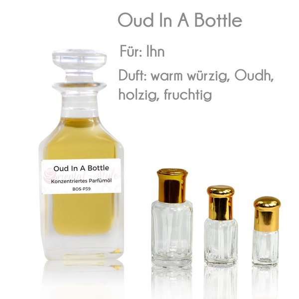 Oriental-Style Perfume oil Oud In A Bottle - Perfume free from alcohol