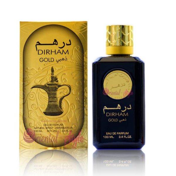 Ard Al Zaafaran Perfumes  Dirham Gold Eau de Parfum 100ml Spray