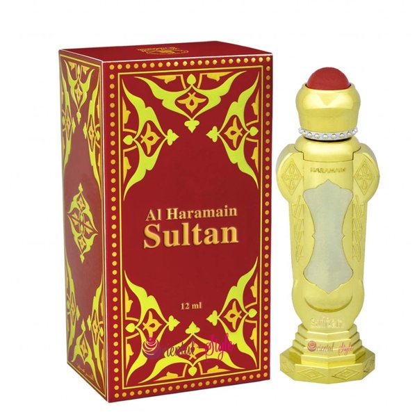 Al Haramain Concentrated Perfume Oil Sultan - Perfume free from alcohol